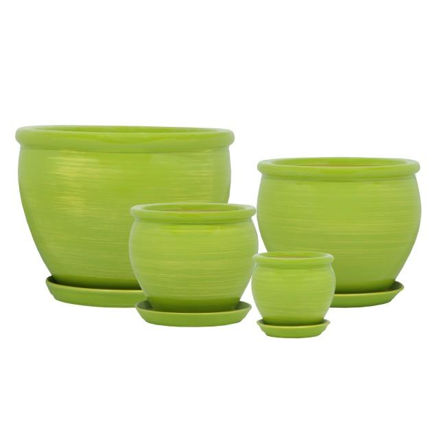 Vietnam Gloss Lime Green-Gold
